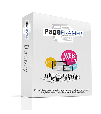 Pageframer CMS for Dentistry